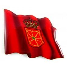 Imán bandera Navarra. Modelo 151