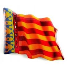 Imán bandera Comunidad Valenciana. Modelo 152
