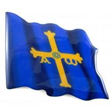 Imán bandera Asturias. Modelo 154
