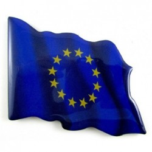 Imán bandera Comunidad Europea. Modelo 156