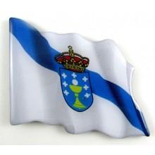Imán bandera Galicia. Modelo 157