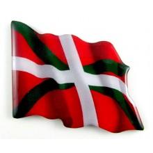 Imán bandera Euskadi. Modelo 162