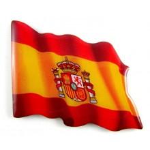 Imán bandera España. Modelo 165