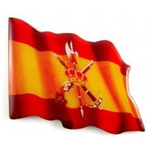 Imán bandera España Legión. Modelo 166