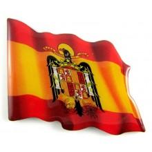 Imán bandera España Águila. Modelo 167