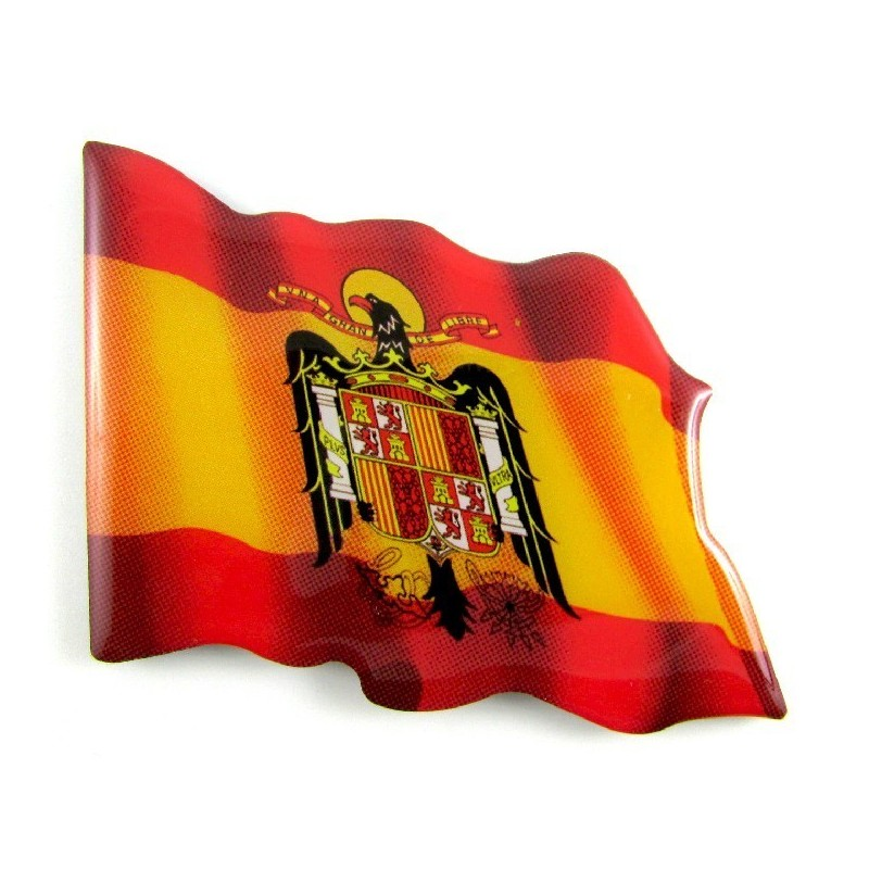 Imán Bandera España águila Modelo 167