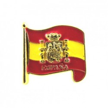 Pegatina relieve bandera España. Modelo 083