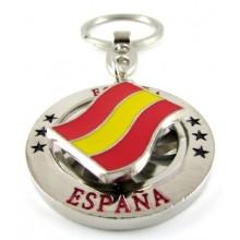 Llavero bandera España. Modelo 628