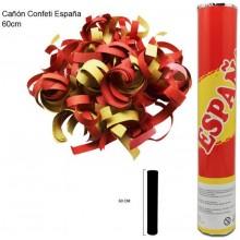 Cañón confeti España 60cm.