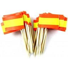 50 Palillos bandera España