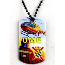 Chapa militar UME. Modelo 205