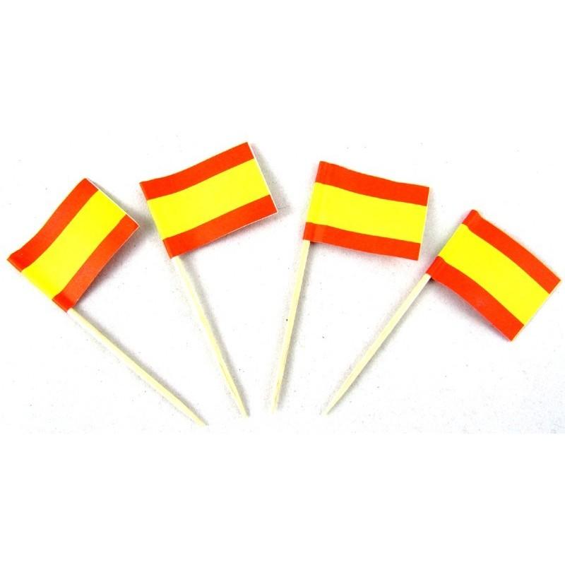 Corbata Bandera de España celeste. Modelo 03