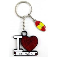 Llavero I Love España. Modelo 633