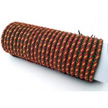 Tubo 24 pulseras bandera España. Modelo 031