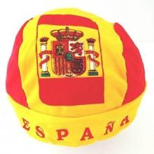 Pañuelo cabeza bandera España. Modelo 515