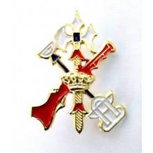 Insignia Escudo Legión. Modelo 094
