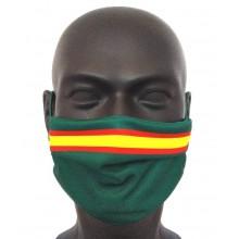 Mascarilla Bandera España verde. Modelo 002. Pequeña