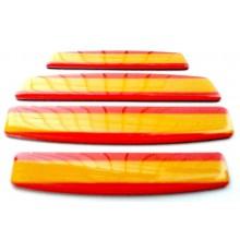 4 Pegatinas relieve bandera España. Modelo 141