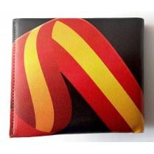 Cartera bandera España. Modelo 256