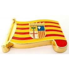 Imán bandera Aragón. Modelo 183