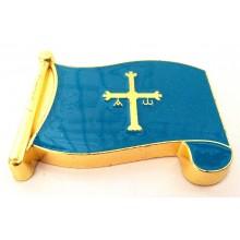 Imán bandera Asturias. Modelo 182