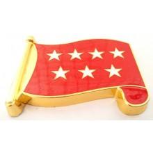 Imán bandera Comunidad Madrid. Modelo 176