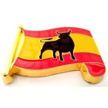 Imán bandera España Toro. Modelo 188