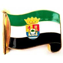 Imán bandera Extremadura. Modelo 189