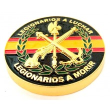 Imán Legión Española. Modelo 172