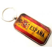 Llavero bandera España. Modelo 642