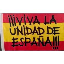 Bandera Viva la Unidad de España