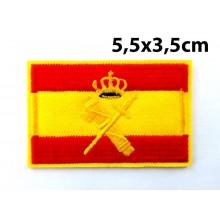 Parche bandera España Guardia Civil. Modelo 093