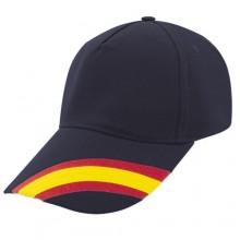 Gorra bandera España azul marino. Modelo 82