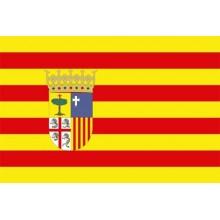 Bandera de Aragón 150x90cm.