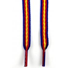 Cordones bandera España marino. Modelo 002