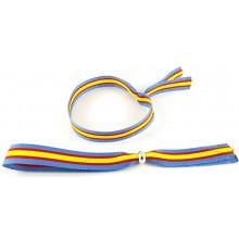 Pulsera cinta bandera España celeste. Modelo 260