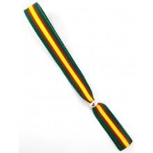 Pulsera cinta bandera España verde. Modelo 264