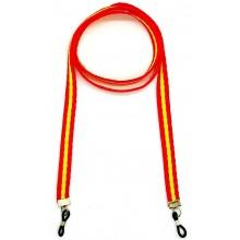 Cordón gafas bandera España. Modelo 01