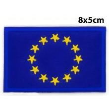 Parche bandera Unión Europea grande. Modelo 094