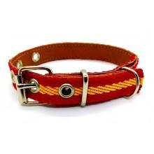 Collar perro 35cm bandera España