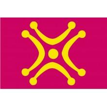 Bandera Lábaro de Cantabria 150x90cm.
