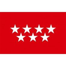 Bandera Comunidad de Madrid 150x90cm.