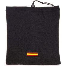 Braga polar bandera España. Negro
