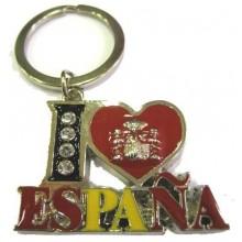 Llavero I love España. Modelo 302