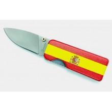 Pinza billetes navaja bandera España