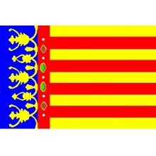 Bandera Comunidad Valenciana 150x90cm.