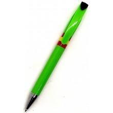 Bolígrafo bandera España. Modelo 013 verde claro