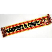 Mini bufanda España Campeones de Europa. Modelo 2