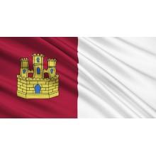 Bandera Castilla La Mancha raso 150x90cm
