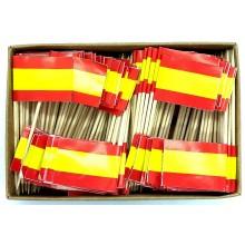 200 Palillos bandera España sin escudo